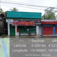 1 bidang tanah dengan total luas 108 M2 berikut bangunan di Kabupaten Mimika